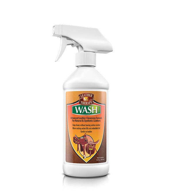 Leather Therapy Wash with Spray 16 oz._216