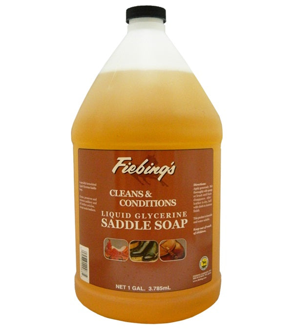 Fiebing's Liquid Glycerine Saddle Soap Gallon - Jacks - Breeches.com