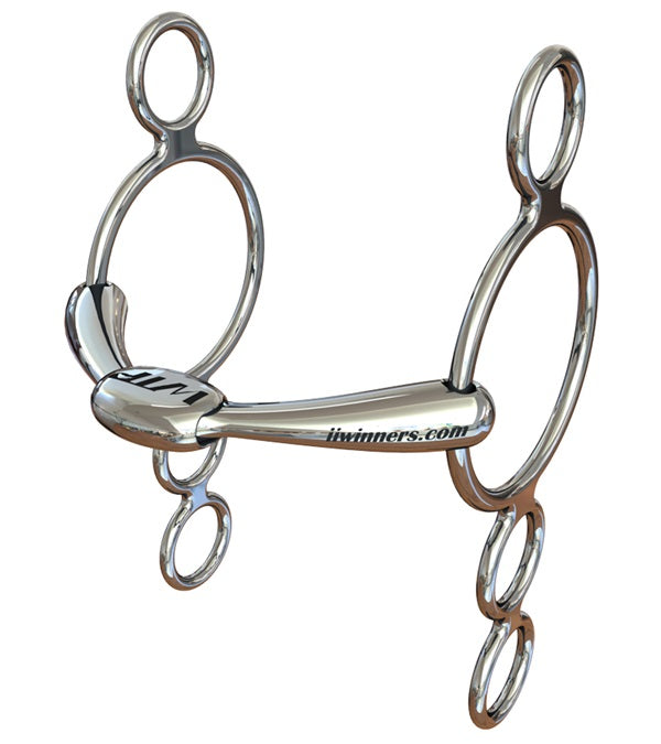 WTP (Winning Tongue Plate) 4 Ring Elevator Leverage Bit with Normal Plate - WTP - Breeches.com