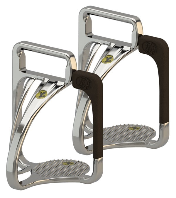 "STS (Space Technology Safety) Western Stirrups Irons 5"" - STS - Breeches.com"