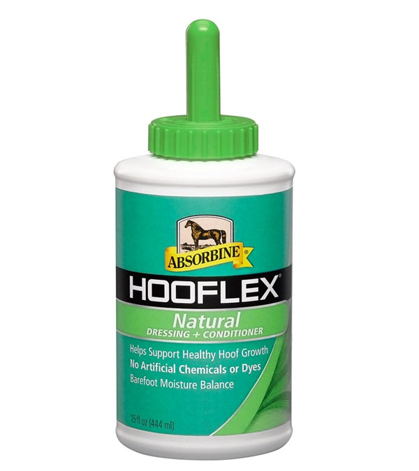 Absorbine Hooflex Natural Dressing with Brush 15 oz. - Absorbine - Breeches.com