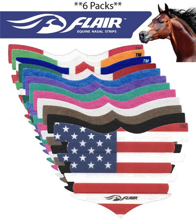 FLAIR Flair Equine Nasal Strips (6 pack) _72
