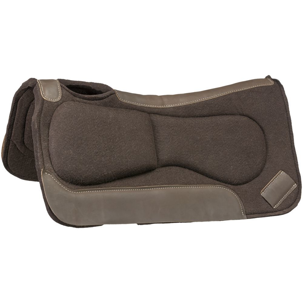 Contour Fit Build Up Felt Saddle Pad - Tough-1 - Breeches.com