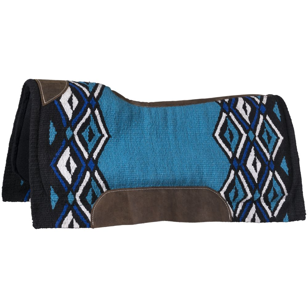 "Tough1® Lakota 36""x34"" Contour Wool Saddle Pad - Tough-1 - Breeches.com"