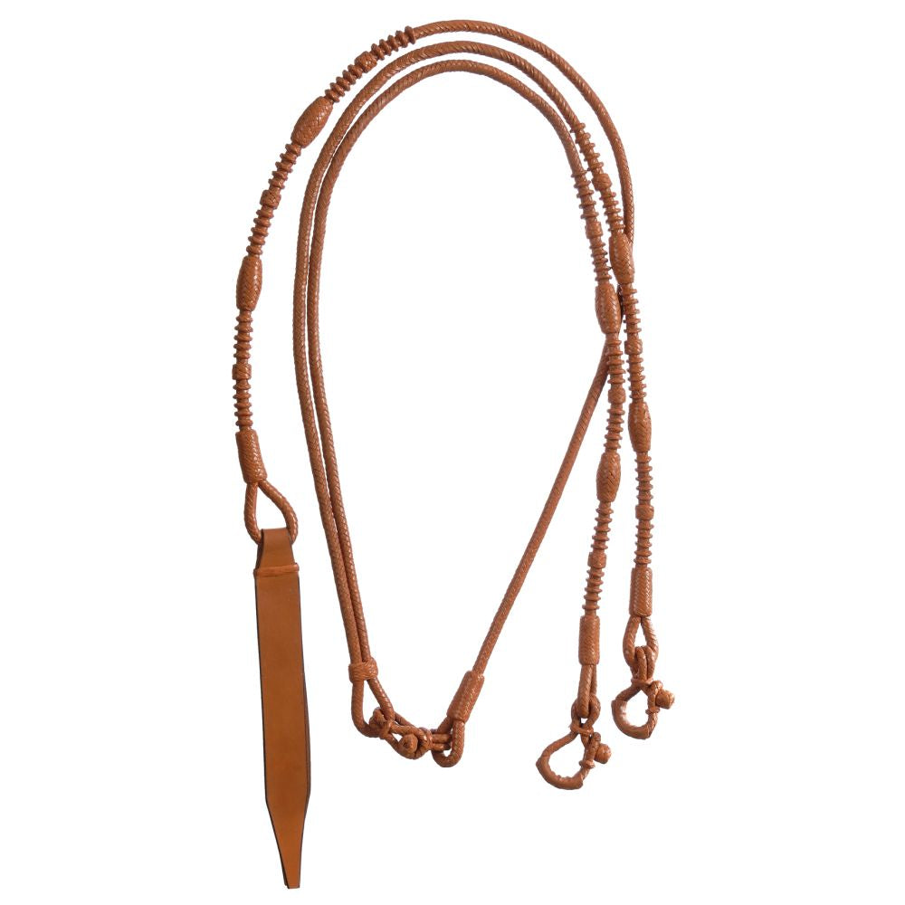Royal King Braided Show Romel Reins - Tough-1 - Breeches.com
