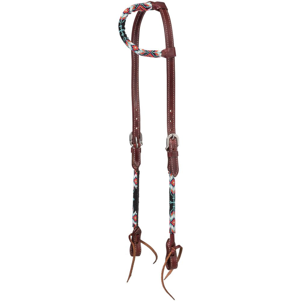 Beaded Cross Ear Headstall