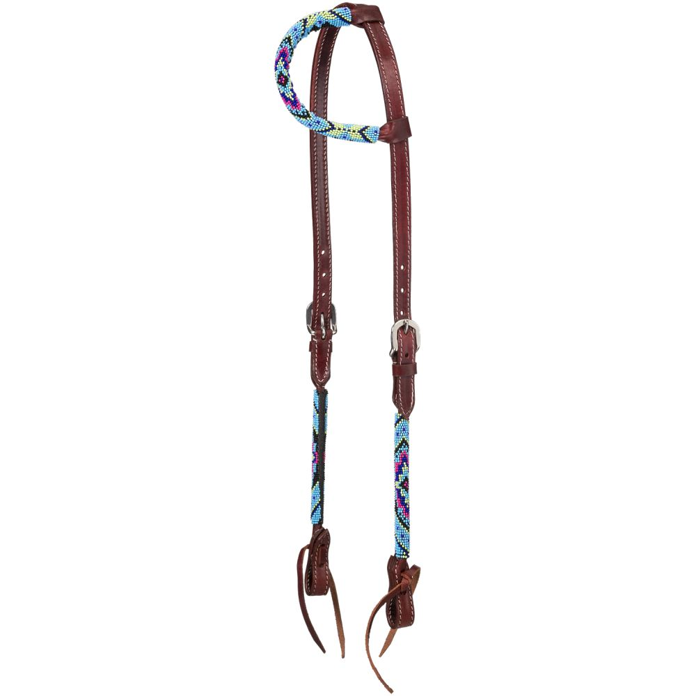 Beaded Diamond Ear Headstall - Breeches.com