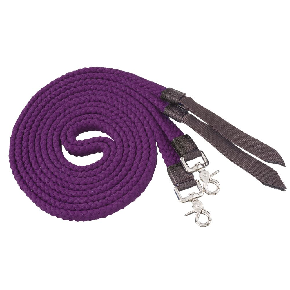 Flat Cotton Split Reins - Breeches.com