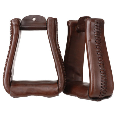 Royal King Deep Roper Stirrups - Breeches.com