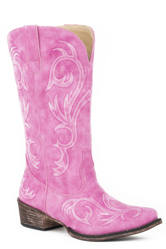"Roper Womens 12"" Western With All Over Embroidery Boot - Roper - Breeches.com"