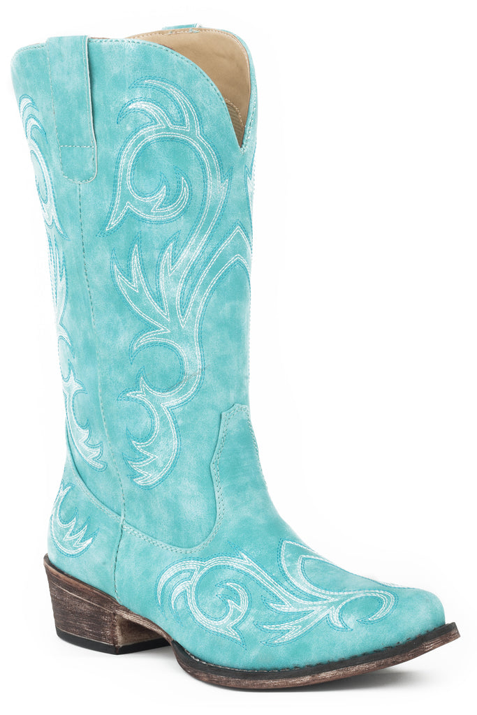 "Roper Womens 12"" Western With All Over Embroidery Boots - Roper - Breeches.com"