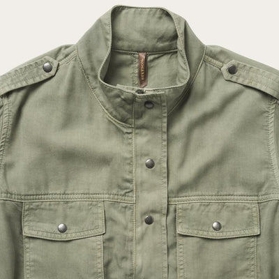 Stetson Womens  Army Green Jacket_12