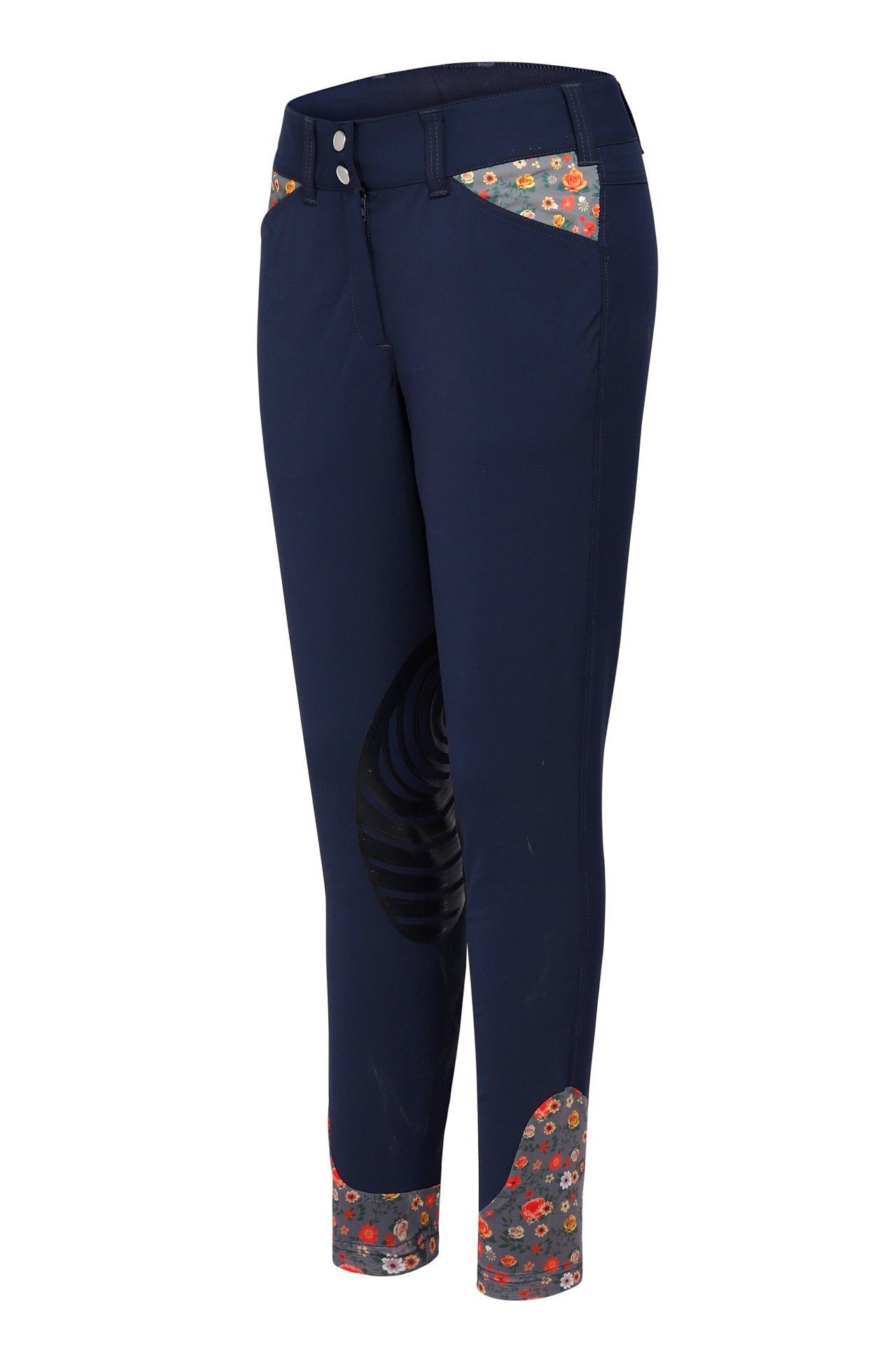 Ecorider By TuffRider Ladies Sequoia Knee Patch Breeches - TuffRider - Breeches.com