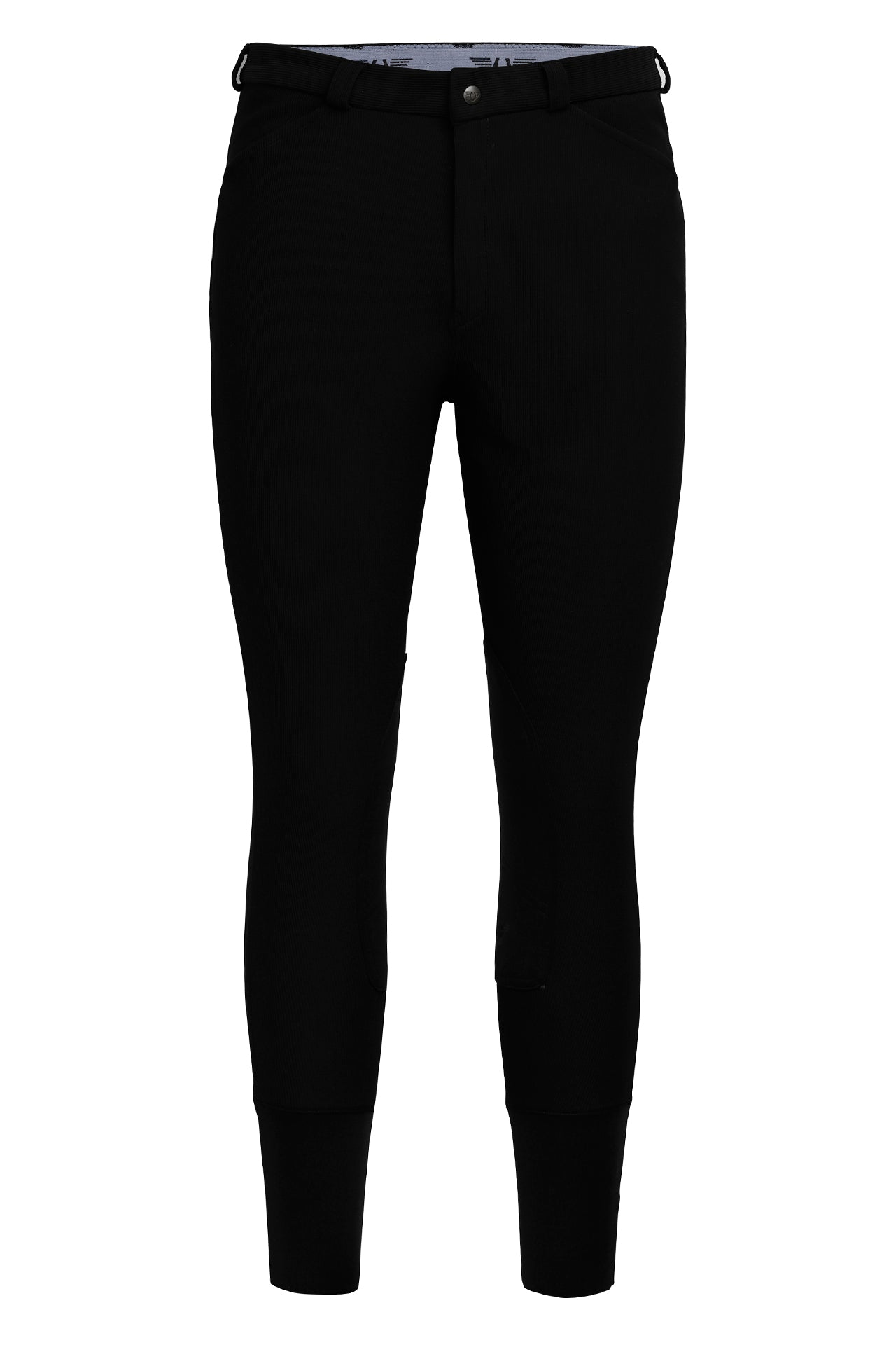 Tuffrider Men's Long Ribb Knee Patch Breeches - Breeches.com