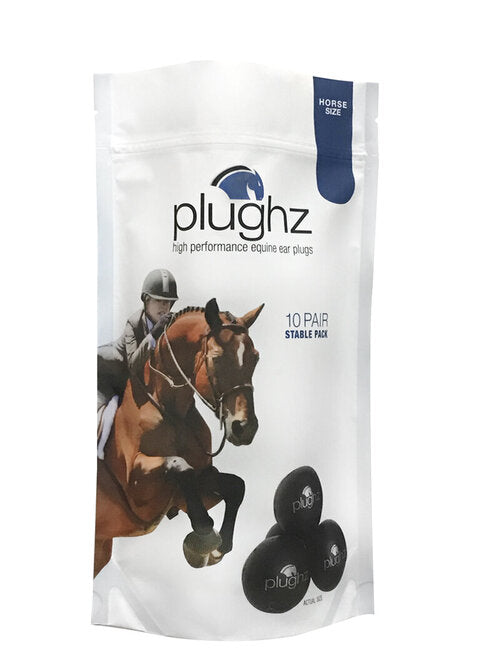 Plughz 10 Pair Stable Pack Ear Plugs