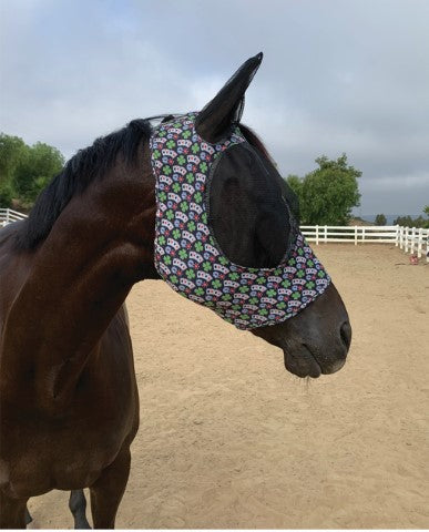 Professional's Choice Pony Comfort Fit Lycra Fly Mask_3