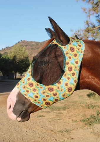 Professional's Choice Pony Comfort Fit Lycra Fly Mask_5