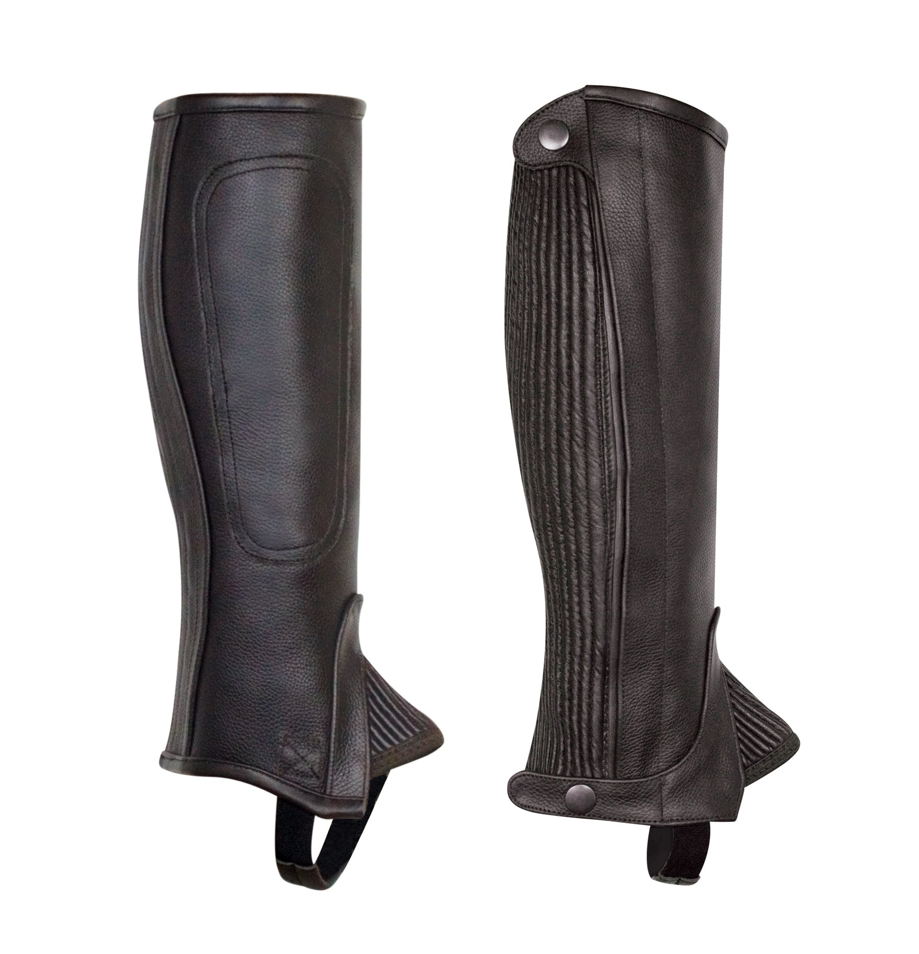 Perri's Professional Medium/Tall  Zip Half Chap - Perri's Leather - Breeches.com