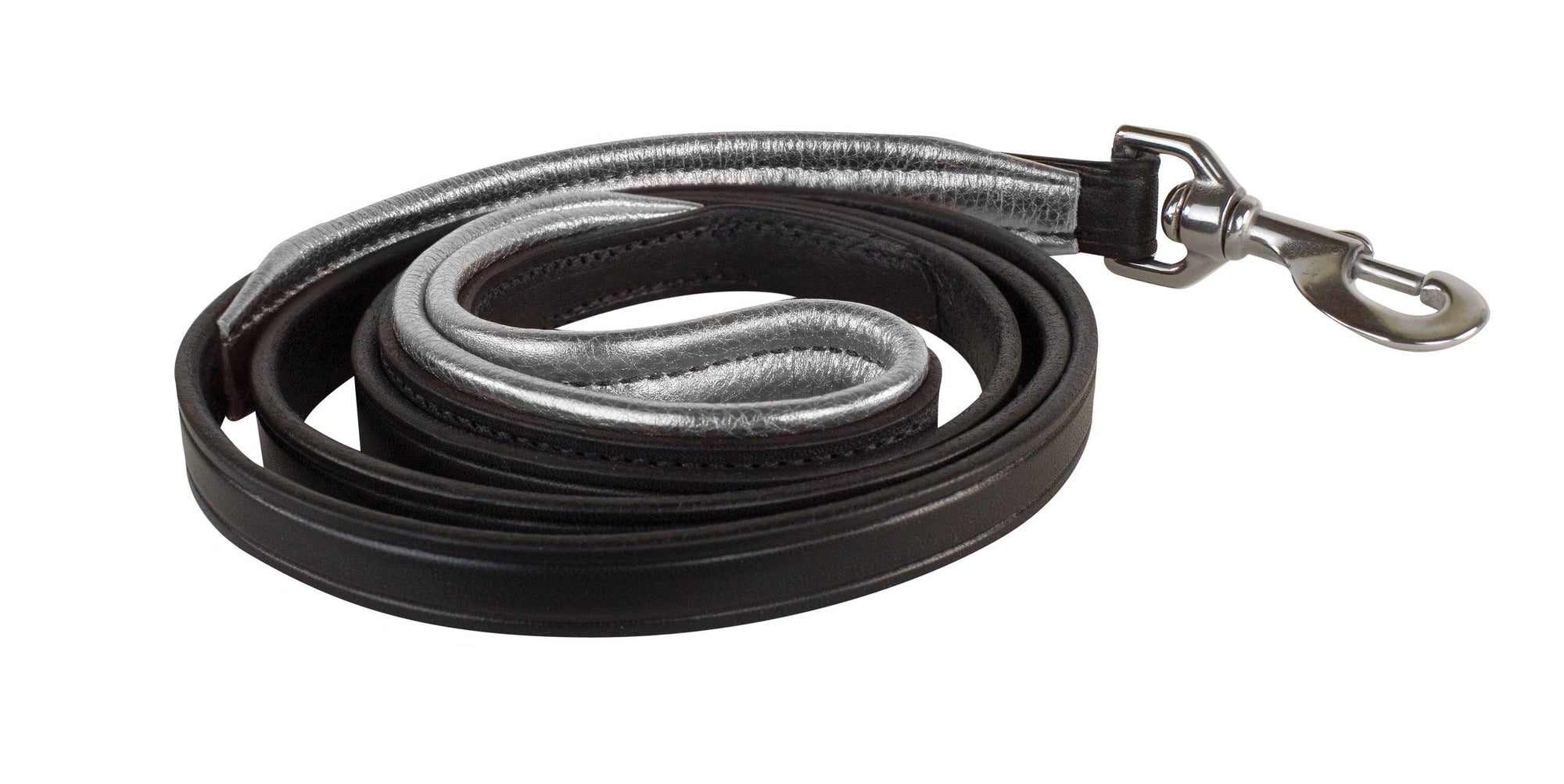 "Perri's Leather 1/2"" Padded Leather Dog Leash_1"