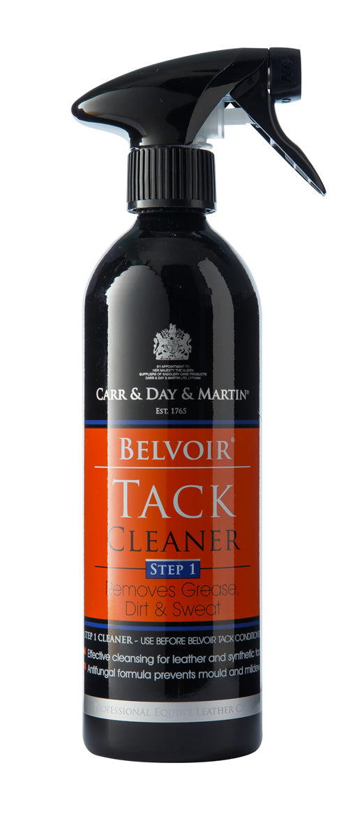 CARR & DAY & MARTIN BELVOIR TACK CLEANER SPRAY 500 ML ALUMINUM BOTTLE - Carr & Day & Martin - Breeches.com