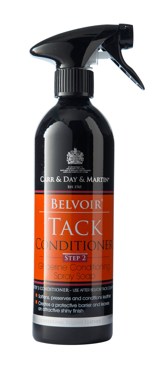 CARR & DAY & MARTIN BELVOIR TACK CONDITIONER SPRAY 500 ML ALUMINUM BOTTLE - Carr & Day & Martin - Breeches.com