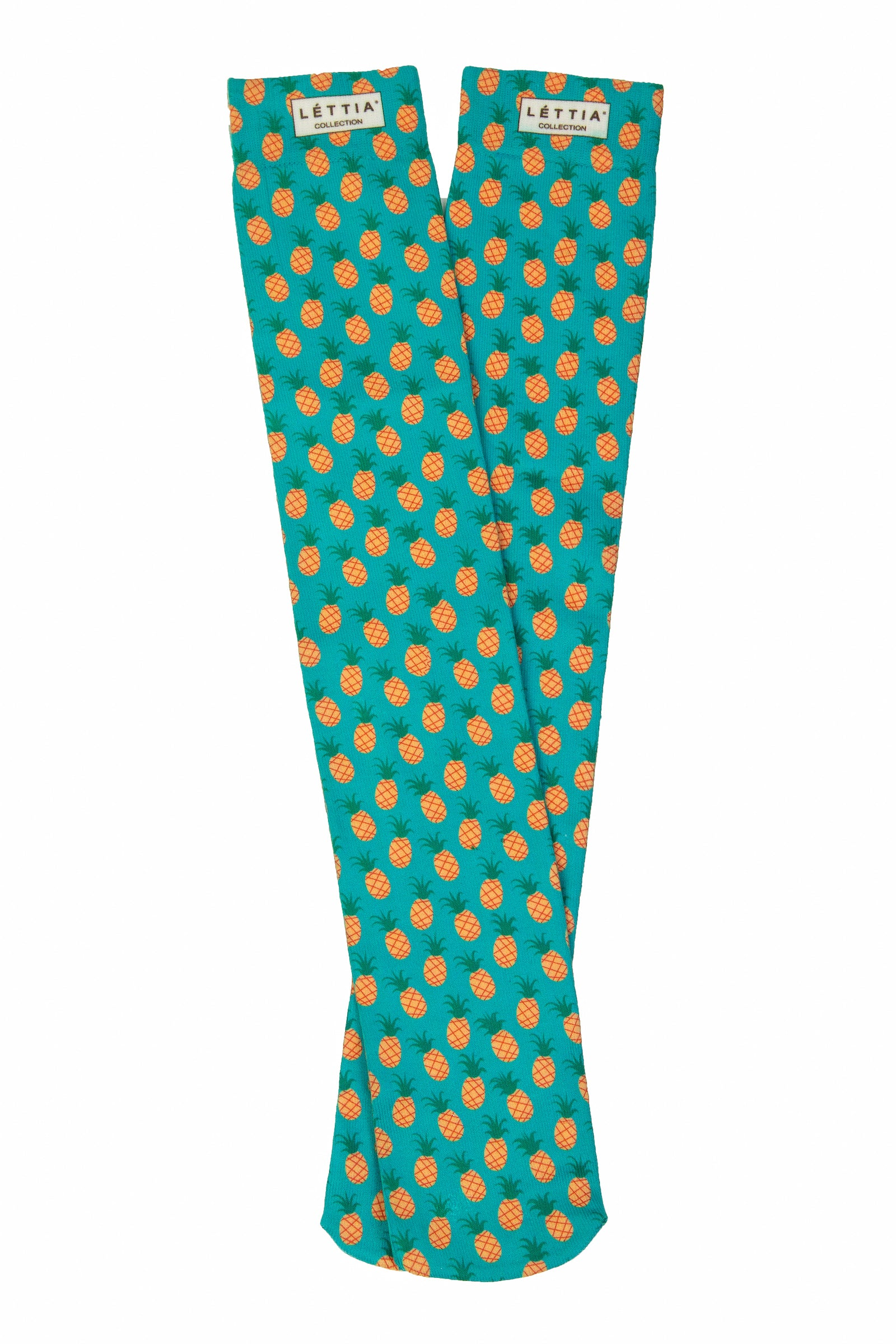 Lettia Adult Pineapple Boot Socks - 3 Pack - Breeches.com