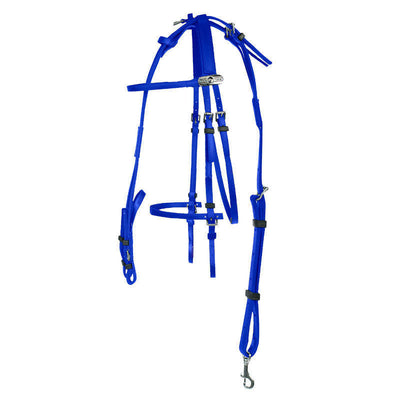 Finntack Synthetic American Racing Bridle_3