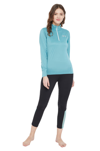 Equine Couture Surya Equicool Long Sleeve Sun Sport Shirt_1