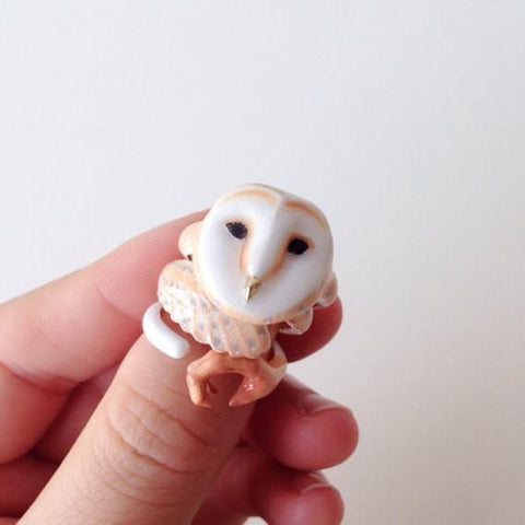 Mary Lou Owl Ring