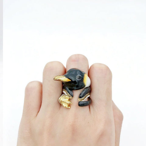 Mary Lou Penguin Ring