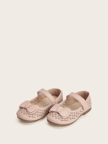 Baby Bow Tie Decor Flats