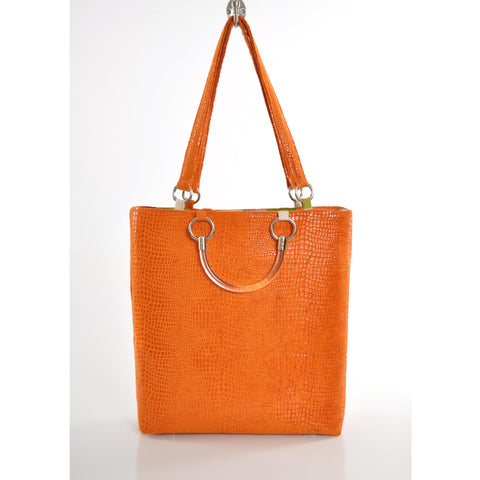 Boa Orange Large Tote