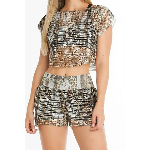 Leopard Shorts - Trend