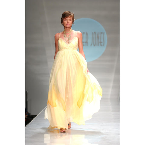 Heather Jones Custard orchids Dress