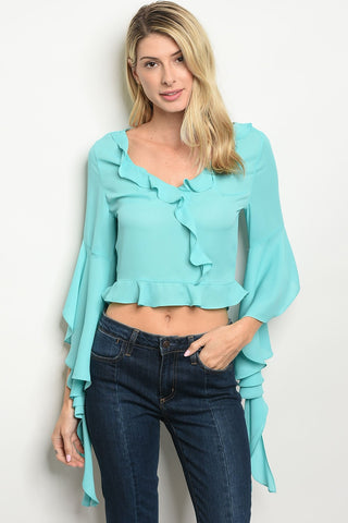 Womens Chiffon Top
