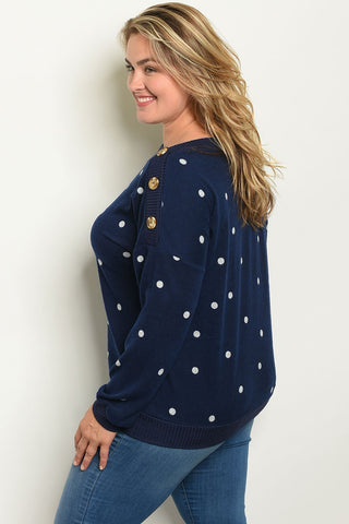 Shop the Trends Plus Size Womens Top