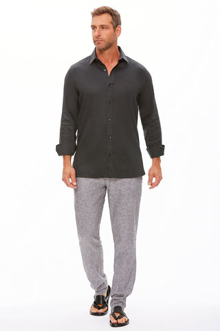 The Trotter Button Up  | Relaxed Fit | Storm & Grace (CLEARANCE)