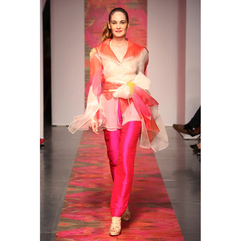 Heather Jones Pink Orchid Pants suit