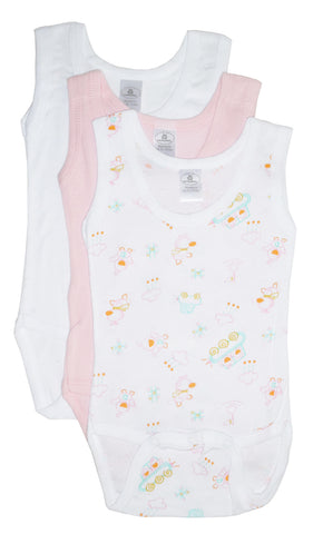 Bambini Girl's Printed Tank Top