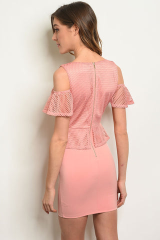 Womens Peplum Dress