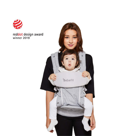 Bebefit Smart Baby Carrier SET  | Light Gray