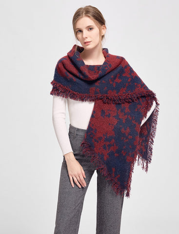Polyester/Wool Blend Shawl