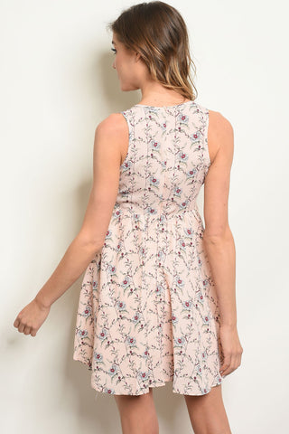 Womens Floral Dress