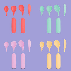 Yaytray® Utensils Plus | Add-On Utensils Fun Pack (FDA Approved)