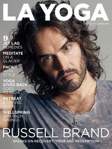 LA Yoga October 2018 Russell Brand  Issue