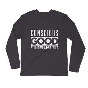 Conscious Good Film Crew Long Sleeve Fitted Crew