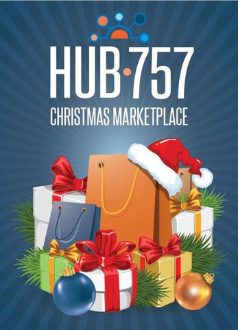 Hub 757 Christmas Marketplace Flyer
