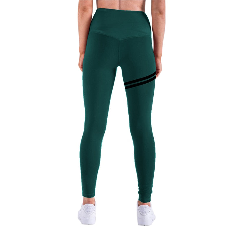 Sexy Fashion High Waist Push Up Fitness Sportswear