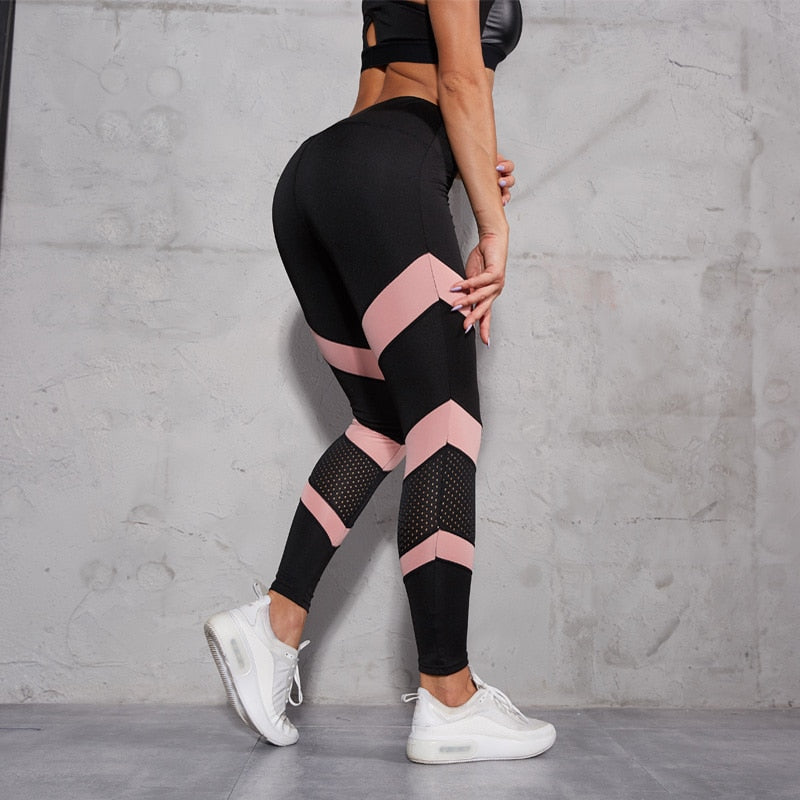 Latest Women High Waist Breathable Running Gym Leggings