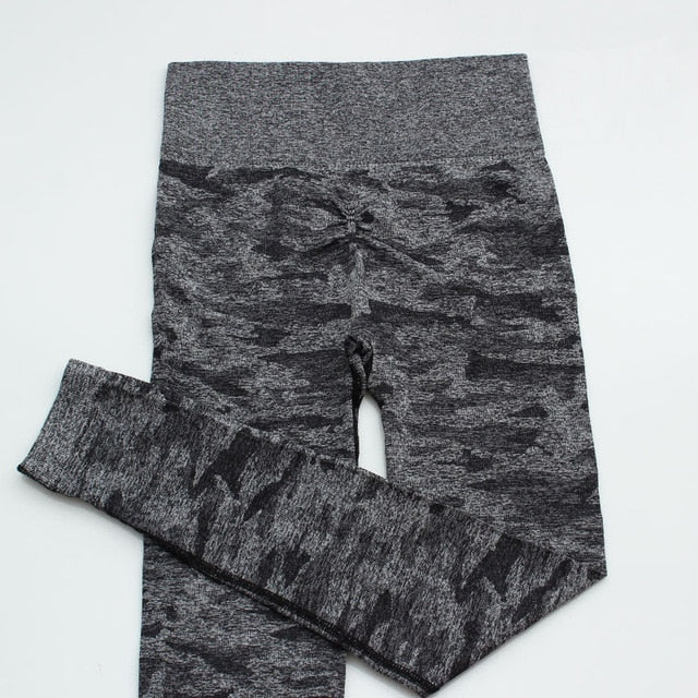 Sexy Camoflage Workout Yoga Pants Gymwear